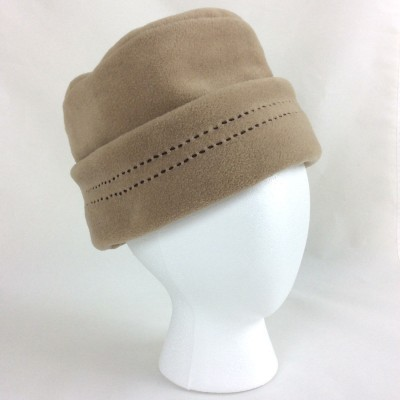 DORFMAN PACIFIC CO. 's Fleece Bucket Hat Brown Tan One Size  eb-81958566