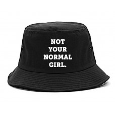 Very Nice Not Your Normal Girl Weird Bucket Hat  eb-66392369