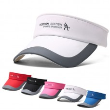Adjustable Tennis Sports Cap Sun Visor Golf Cap Headband Hat Vizor  eb-65971772