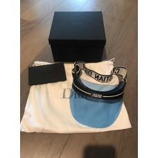 Christian Dior Club 1 Logo Visor Hat J'dior  Blue Sunglasses Mujer 2018 NEW   eb-77623693