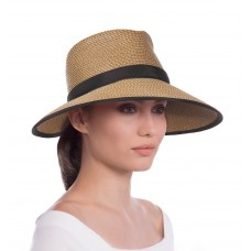 Eric Javits Fashion Designer Mujers Headwear Hat  Suncrest  Natural/Black 876172029688 eb-41727717