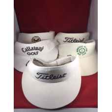 Lot Of 5 Callaway/Titleist/Muirfield/Robert Trent Jones Golf Visor Very Nice  eb-01558802
