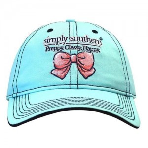 New Simply Southern Tees Tshirt Co. Hat NWT Bow Logo Embroidered Baseball Cap  eb-63863189