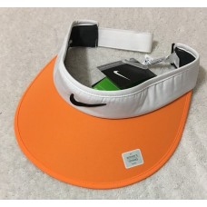 Nike Golf  Mujer's Big Bill  Visor Adjustable Back  Orange w/White Trim  (3424)  eb-44656592