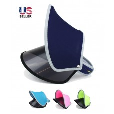 Sun Visor UV Protection Summer Outdoor Face Cover Shade Sport Duet 2 Layers Hat  eb-35365057