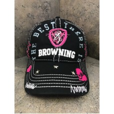 Browning Sweetheart Mesh Back Baseball Cap 308239992 Hook & Loop Closure 23614391722 eb-63742451