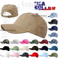 Cotton Hat Baseball Cap Adjustable Washed Style Plain Blank Visor Hats Caps Dad  eb-91734265