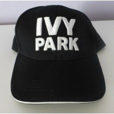 IVY PARK Beyonce Topshop Black With White Logo Baseball Hat NEW  eb-55277538
