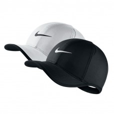 NWT NIKE Mujer's DriFit Feather Light Running Tennis Hat Cap BLACK or WHITE  eb-36293010
