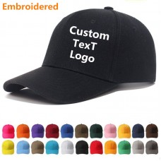 Personalised Custom Embroidered Baseball Cap  With ANY TEXT/LOGOUnisex Hat  eb-43343607