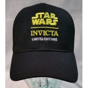 Preowned Star Wars Invicta Watch Limited Editions One Size Strapback Black Hat  eb-25874605