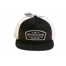 Quicksilver Hombre's Reeder Adjustable Hat Black One Size 889351447180 eb-56675813