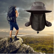 Hombres Mujer Outdoor Sport Fishing Hiking Hat UV Protect Face Neck Flap Sun Cap US  eb-04703314