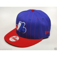 NEW ERA 9Fifty Montreal Expos Baseball Cooperstown Pinsnap2 Hombre Cap Hat Blue 886134626374 eb-13610165
