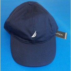Nautica Mujer's Baseball Cap Hat One Size Adjustable Navy Blue White Logo New 823283806820 eb-13205656