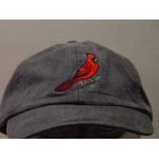 RED CARDINAL BIRD Hat  One Embroidered Wildlife Cap  Price Embroidery Apparel  eb-56733145