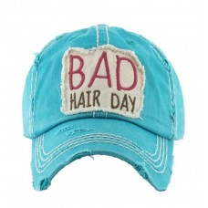 Turquoise Bad Hair Day Vintage Style Baseball Cap Hat NEW FREE SHIPPING  eb-92216743