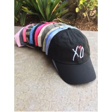 XO Custom Unstructured EMBROIDERED Dad Hat Adjustable Cap Multi Colors  eb-75447534