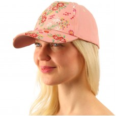 Fancy Floral Embroidered All Season Cotton Baseball Cap Sun Hat Adjustable  eb-59969036