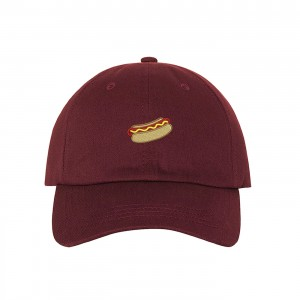 Hot Dog Embroidered Dad Hat Baseball Cap  Many Styles  eb-62159144