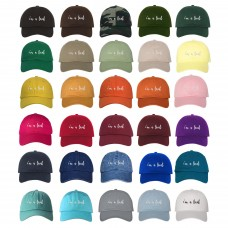 I'M A LOCAL Dad Hat Cursive Low Profile Baseball Cap Many Colors Available  eb-28838993
