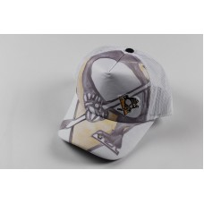 New Sample ADIDAS Pittsburgh Penguins Hockey NHL Mujer's Big Logo Mesh Hat White  eb-97618954
