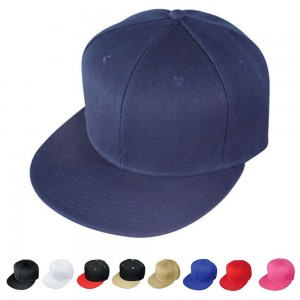 Plain Blank Solid Two Tone Retro Flat Bill Vintage 6 Panel Baseball Hats Caps  eb-26411314