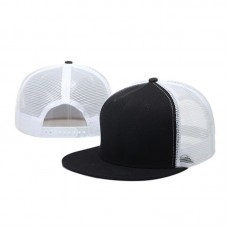 Summer Classic Unisex Snap Back Baseball Cap Adjustable Sport Mesh Plain Hip Hop  eb-34874586