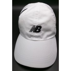 WOMEN'S NEW BALANCE lightweight white adjustable cap / hat  eb-74479262