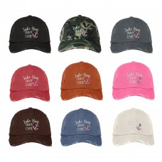 LAKE HAIR DON'T CARE Distressed Dad Hat Summer Lake Life Caps  Many Colors  eb-80563647