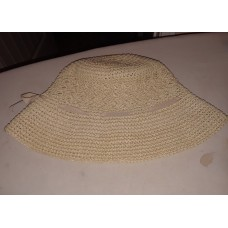 NEW Packable Rafia Hat great for your summer vacation  eb-73756152