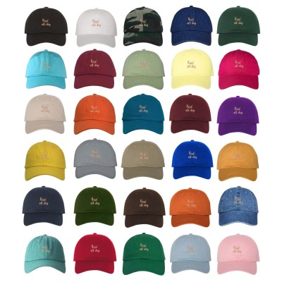 ROSÉ ALL DAY Dad Hat Embroidered Booze Wine Drinking Baseball Caps  Many Styles  eb-21491139