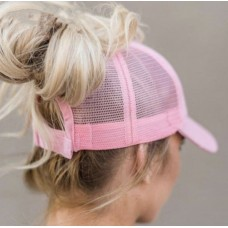 C.C Ponycap Messy High Bun Ponytail Adjustable Baseball CC Cap Hat  eb-23932390