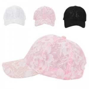 Female Lace Floral Adjustable Outdoor Sunproof  Hat Baseball Bucket Cap.US  eb-79116231