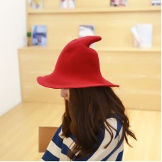 Modern Witch Hat Made From High Quality Sheep Wool Free Shipping  eb-77254995