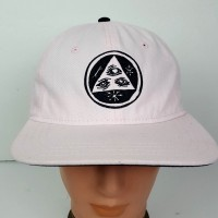 Pyramid 3 Seeing Eye Mystic  Baseball Cap Hat Adjustable Embroidered Logo Pink  eb-41981704