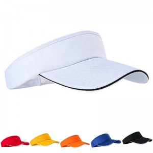 AdjustableUnisex   Plain Sun Visor Sports Golf Tennis Breathable Cap Hat  eb-74054221