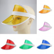 Hot Summer Unisex Casual Neon Sun Visor Hat For Golf Sport Tennis Headband Cap  eb-93323332