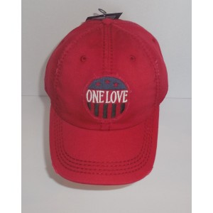 s LIFE IS GOOD Flag Red Baseball Chill Cap Hat One Love OSFM New   887941325757 eb-53278627