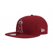 New Era 9Fifty Hat Cap MLB Baseball Los Angeles Anaheim Angels Red Halo 950 886948841024 eb-93207641