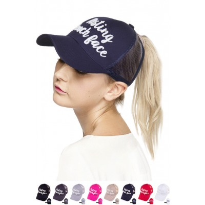 ScarvesMe C.C Resting Beach Face Color Change Ponytail Messy Buns Baseball Cap  eb-89863543